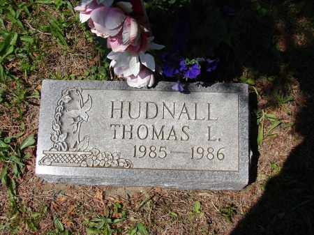 HUDNALL, THOMAS L - Athens County, Ohio | THOMAS L HUDNALL - Ohio Gravestone Photos