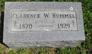 HUMMEL, CLARENCE W. - Athens County, Ohio | CLARENCE W. HUMMEL - Ohio Gravestone Photos