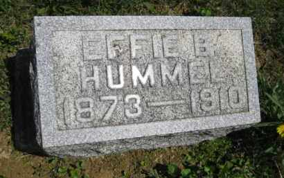HUMMEL, EFFIE B. - Athens County, Ohio | EFFIE B. HUMMEL - Ohio Gravestone Photos
