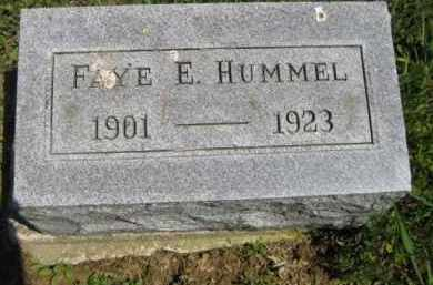 HUMMEL, FAYE E. - Athens County, Ohio | FAYE E. HUMMEL - Ohio Gravestone Photos