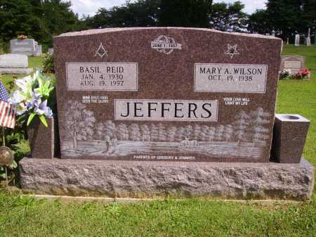 JEFFERS, BASIL REID - Athens County, Ohio | BASIL REID JEFFERS - Ohio Gravestone Photos