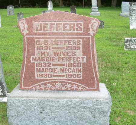 PERFECT JEFFERS, MAGGIE - Athens County, Ohio | MAGGIE PERFECT JEFFERS - Ohio Gravestone Photos