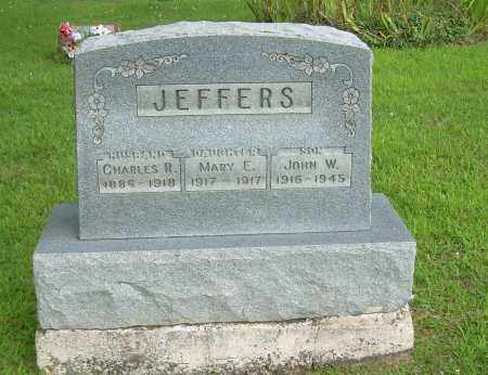 JEFFERS, JOHN W - Athens County, Ohio | JOHN W JEFFERS - Ohio Gravestone Photos