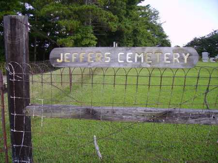 JEFFERS CEMETERY, SIGN - Athens County, Ohio | SIGN JEFFERS CEMETERY - Ohio Gravestone Photos