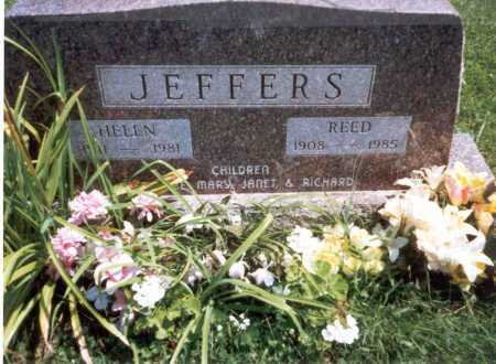 JEFFERS, REED - Athens County, Ohio | REED JEFFERS - Ohio Gravestone Photos
