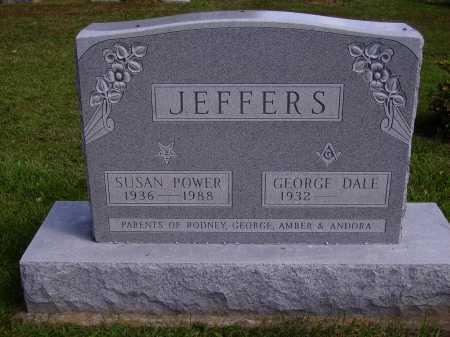 JEFFERS, SUSAN POWER - Athens County, Ohio | SUSAN POWER JEFFERS - Ohio Gravestone Photos