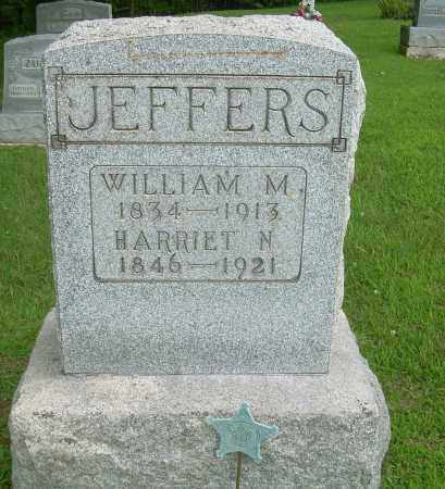 JEFFERS, WILLIAM M - Athens County, Ohio | WILLIAM M JEFFERS - Ohio Gravestone Photos