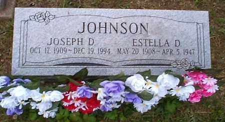JOHNSON, JOSEPH D. - Athens County, Ohio | JOSEPH D. JOHNSON - Ohio Gravestone Photos