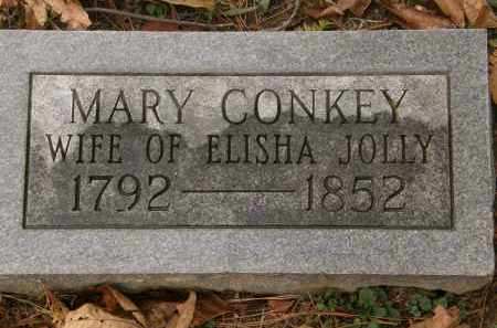 CONKEY JOLLY, MARY - Athens County, Ohio | MARY CONKEY JOLLY - Ohio Gravestone Photos