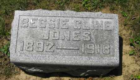 CLINE JONES, BESSIE - Athens County, Ohio | BESSIE CLINE JONES - Ohio Gravestone Photos