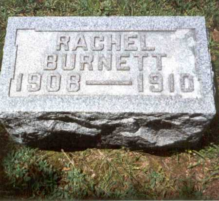 JONES, RACHEL BURNETT - Athens County, Ohio | RACHEL BURNETT JONES - Ohio Gravestone Photos