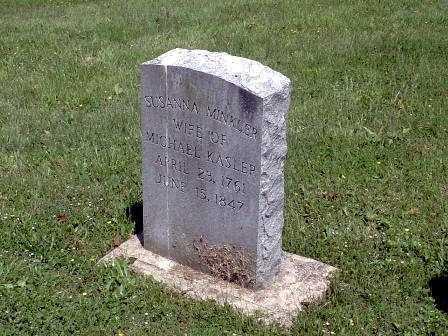 KASLER, SUSANNA - Athens County, Ohio | SUSANNA KASLER - Ohio Gravestone Photos