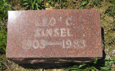 KINSEL, LEO C. - Athens County, Ohio | LEO C. KINSEL - Ohio Gravestone Photos