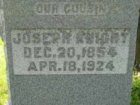 KNIGHT, JOSEPH H. - Athens County, Ohio | JOSEPH H. KNIGHT - Ohio Gravestone Photos