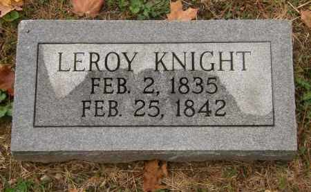 KNIGHT, LEROY - Athens County, Ohio | LEROY KNIGHT - Ohio Gravestone Photos