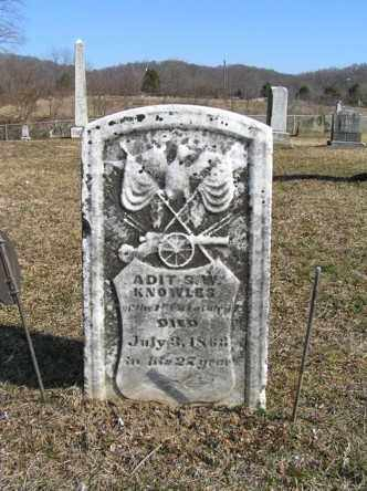 KNOWLES, STEPHEN W. - Athens County, Ohio | STEPHEN W. KNOWLES - Ohio Gravestone Photos