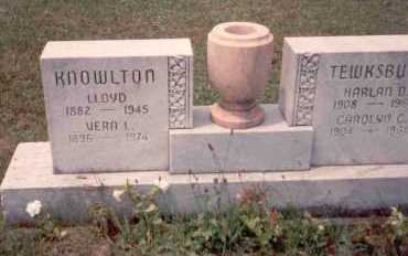 KNOWLTON, LLOYD - Athens County, Ohio | LLOYD KNOWLTON - Ohio Gravestone Photos