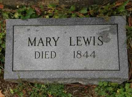 LEWIS, MARY - Athens County, Ohio | MARY LEWIS - Ohio Gravestone Photos