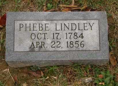 LINDLEY, PHEBE - Athens County, Ohio | PHEBE LINDLEY - Ohio Gravestone Photos