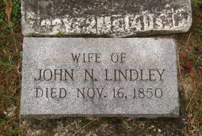 LINDLEY, WIFE - Athens County, Ohio | WIFE LINDLEY - Ohio Gravestone Photos