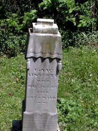 LINSCOTT, ISSAC - Athens County, Ohio | ISSAC LINSCOTT - Ohio Gravestone Photos