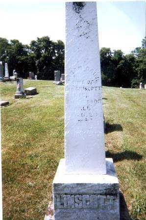 DAINS LINSCOTT, SARAH - Athens County, Ohio | SARAH DAINS LINSCOTT - Ohio Gravestone Photos