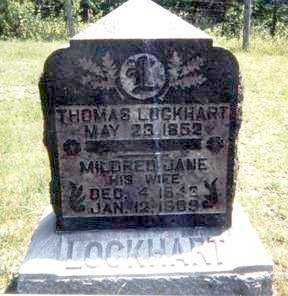 LOCKHART, THOMAS - Athens County, Ohio | THOMAS LOCKHART - Ohio Gravestone Photos