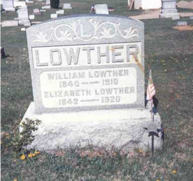 LOWTHER, WILLIAM - Athens County, Ohio | WILLIAM LOWTHER - Ohio Gravestone Photos
