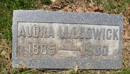 LUDWICK, AUDRA M - Athens County, Ohio | AUDRA M LUDWICK - Ohio Gravestone Photos