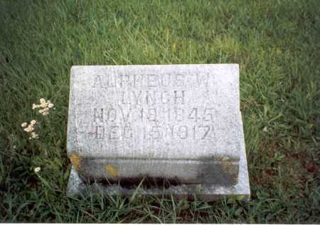 LYNCH, ALPHEUS W. - Athens County, Ohio | ALPHEUS W. LYNCH - Ohio Gravestone Photos