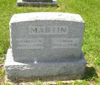 MARTIN, SARAH - Athens County, Ohio | SARAH MARTIN - Ohio Gravestone Photos