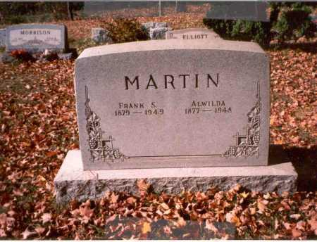 MARTIN, ALWILDA - Athens County, Ohio | ALWILDA MARTIN - Ohio Gravestone Photos