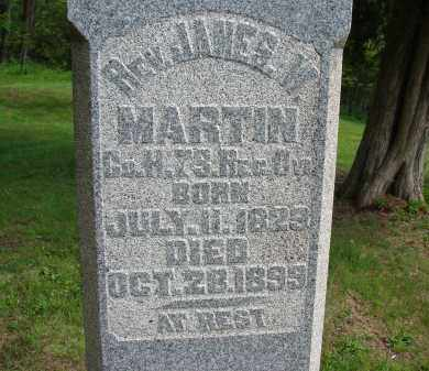 MARTIN, JAMES W - Athens County, Ohio | JAMES W MARTIN - Ohio Gravestone Photos
