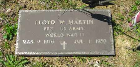 MARTIN, LLOYD W. - Athens County, Ohio | LLOYD W. MARTIN - Ohio Gravestone Photos