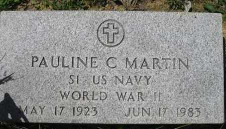 MARTIN, PAULINE C. - Athens County, Ohio | PAULINE C. MARTIN - Ohio Gravestone Photos