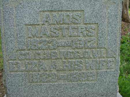 MASTERS, AMOS - Athens County, Ohio | AMOS MASTERS - Ohio Gravestone Photos