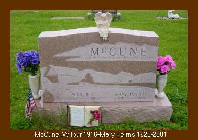 MCCUNE, MARY ISABELL - Athens County, Ohio | MARY ISABELL MCCUNE - Ohio Gravestone Photos