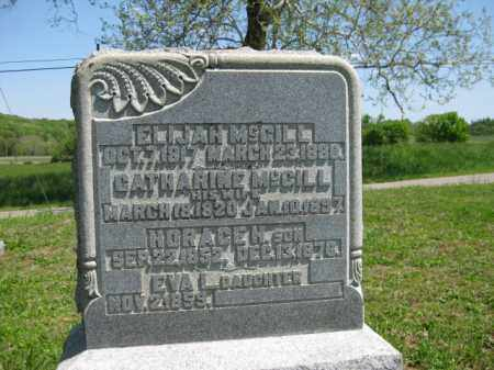 MCGILL, ELIJAH - Athens County, Ohio | ELIJAH MCGILL - Ohio Gravestone Photos