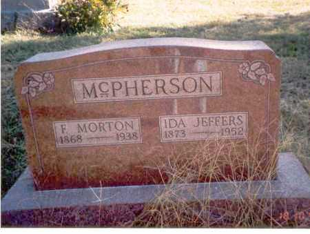 MCPHERSON, F. MORTON - Athens County, Ohio | F. MORTON MCPHERSON - Ohio Gravestone Photos
