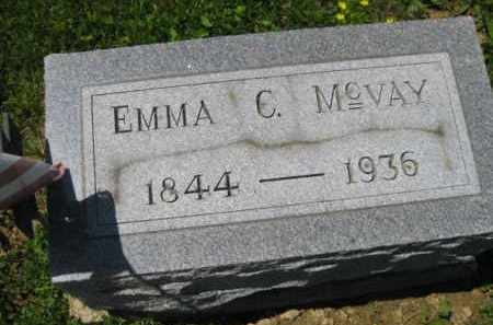 MC VAY, EMMA C. - Athens County, Ohio | EMMA C. MC VAY - Ohio Gravestone Photos