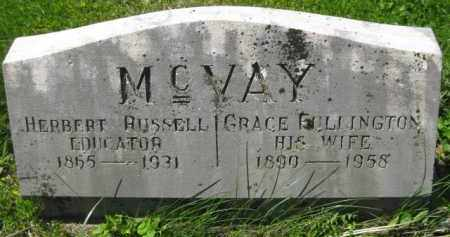 MC VAY, GRACE - Athens County, Ohio | GRACE MC VAY - Ohio Gravestone Photos