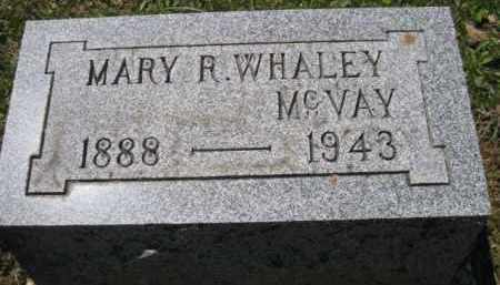 WHALEY MC VAY, MARY R. - Athens County, Ohio | MARY R. WHALEY MC VAY - Ohio Gravestone Photos
