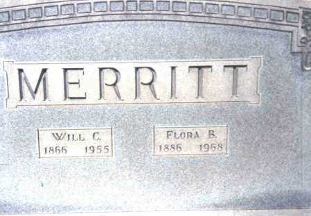 MERRITT, WILL C. - Athens County, Ohio | WILL C. MERRITT - Ohio Gravestone Photos