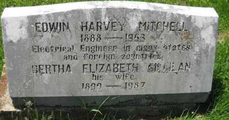 MITCHELL, EDWIN HARVEY - Athens County, Ohio | EDWIN HARVEY MITCHELL - Ohio Gravestone Photos