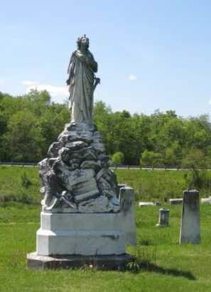 MONUMENT, ALEXANDER-UNION/OLD CUMBERLAND CEMETERY - Athens County, Ohio | ALEXANDER-UNION/OLD CUMBERLAND CEMETERY MONUMENT - Ohio Gravestone Photos