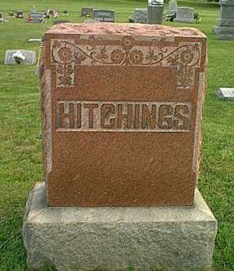 HITCHINGS, MONUMENT - Athens County, Ohio | MONUMENT HITCHINGS - Ohio Gravestone Photos