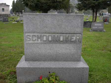 SCHOONOVER, MONUMENT - Athens County, Ohio | MONUMENT SCHOONOVER - Ohio Gravestone Photos