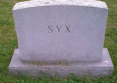 SYX, MONUMENT - Athens County, Ohio | MONUMENT SYX - Ohio Gravestone Photos