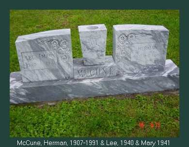 MCCUNE, HERMAN - Athens County, Ohio | HERMAN MCCUNE - Ohio Gravestone Photos
