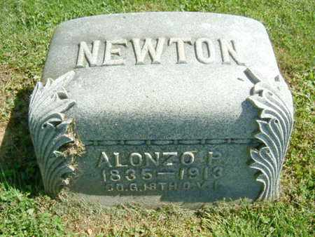 NEWTON, ALONZO P - Athens County, Ohio | ALONZO P NEWTON - Ohio Gravestone Photos